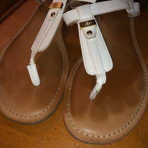 White Tommy Hilfiger sandals